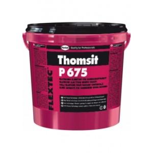 Эластичный клей для приклеивания многослойных деревянных покрытий пола Thomsit P 675 FLEXTEC TM