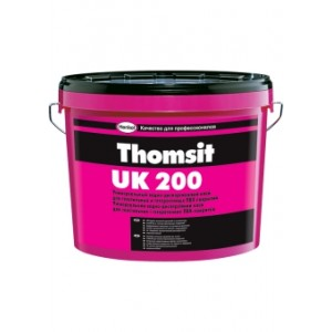 Универсальный водно-дисперсионный клей для текстильных и гетерогенных ПВХ покрытий Thomsit UK 200