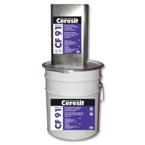 Полиуретановое покрытие для полов под умеренные нагрузки Ceresit CF 91 А+Б