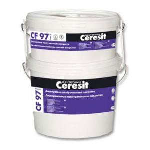 Декоративно-защитная полиуретановая краска Ceresit CF 97