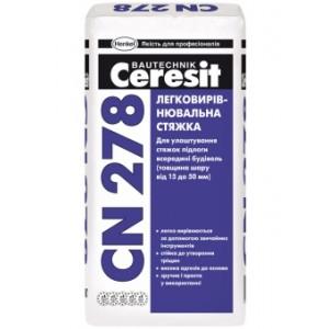 Легковыравнивающаяся стяжка Ceresit CN 278