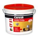 Интерьерная акриловая краска Ceresit CT 51 Супер фото