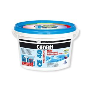 Эластичный водостойкий цветной шов до 5 мм Ceresit CE 40 aquastatic