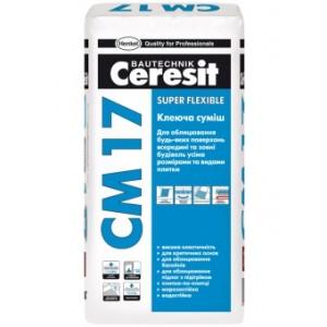 Клеящая смесь Ceresit CM 17 Super flexible