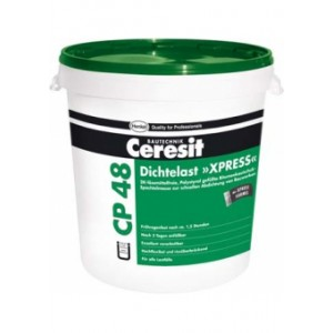 Эластичная гидроизоляционная мастика Ceresit CP 48 «XPRESS»