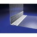 Уголок острый, с сеткой (100x100 мм) 2,5м фото