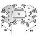 Крестообразный кронштейн одноуровневый (КРАБ) фото