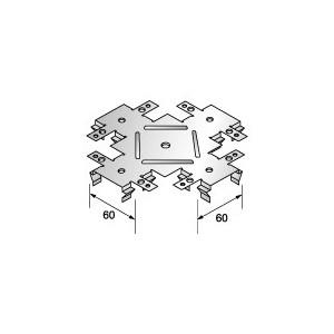 Крестообразный кронштейн одноуровневый (КРАБ)148х148