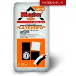 Мастер СатенПро Шпаклевка гипсовая, 25 кг