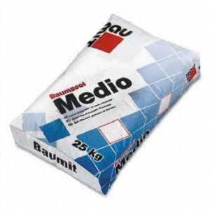 Баумит Медио Клеющая смесь для плитки толстослойная, 25кг.