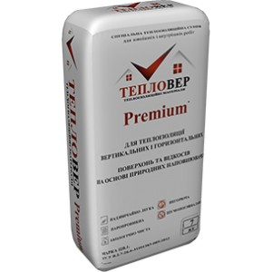 "Штукатурка гидрофобная ""Тепловер Premium+"" 7 кг"