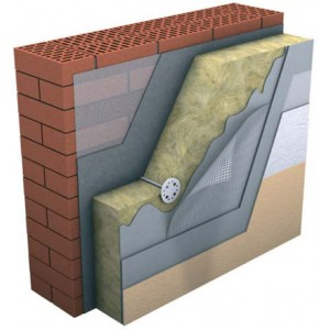 Базальтовая вата Технофас Эффект 100мм(1.44м²)